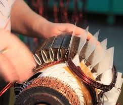 rewinding an electric motor