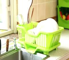 dish holder rack 4 colors creative racks kitchen utensils dishes draining storage countertop drying commercial holde