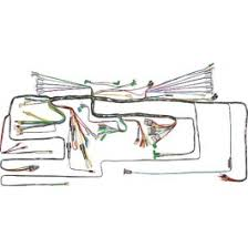1955 1966 ford thunderbird electrical wiring harness sets and ford thunderbird dash wiring harness 1959