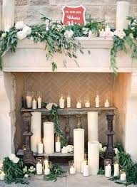 by fire place decoration fireplace mantel decorations for spring