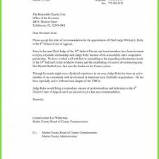 Letter Of Recommendation For A Judge Letter Of Recommendation Judge Formal Letter Format To Judge Save