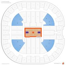 Littlejohn Coliseum Seating Chart Littlejohn Coliseum Clemson Seating Guide Rateyourseats Com