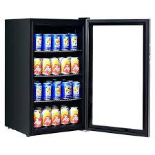 beer refrigerator glass door wine beverage cooler stainless steel glass door refrigerator