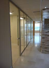 office corridor door glass. Office Corridor With Glass Wall System Door D