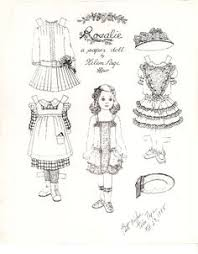 Small Picture Paper Dolls Free Printable Download Dolls Craft and Adult