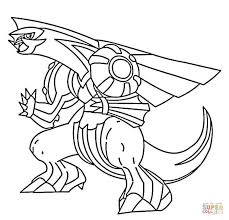 Small Picture Palkia coloring page Free Printable Coloring Pages
