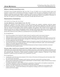 Resume Templates For Medical Field Cover Letter Samples Cover