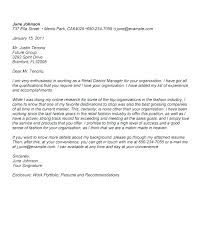 Retail Cover Letter Sample Cover Letter Teachers Cover Letter Layout