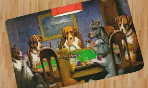 are you a fan of the 16 oil paintings known collectively as dogs playing by the american artist c m coolidge if so and you are fond of tapestries