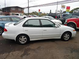 2001 Used Toyota Corolla 4dr Sedan S Automatic at Mash Cars ...