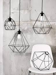 lighting in ikea. de nya lampskrmarna brunsta tecknar spnnande geometriska former i luften fina att hnga var fr ikea pendant lightpendant lighting in