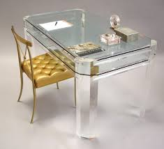 Plexiglass Furniture | Lucite Desk | Acrilic Furniture