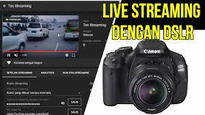 Tutorial LIVE Streaming Youtube Dengan Kamera DSLR Canon Pakai Aplikasi OBS  Studio Dan EOS Utility - YouTube