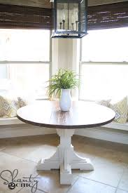 diy round dining table how to make a large round dining room table
