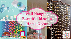 Small Picture DIY 10 Wall Hanging Ideas to Decorate Your Home K4 Craft