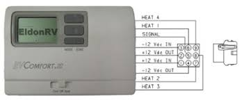 coleman mach thermostat wiring diagram coleman coleman mach multi zone control digital thermostat for rv s on coleman mach thermostat wiring diagram