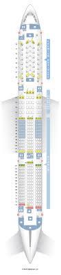 Airbus A350 900 Seating Chart Seatguru Seat Map China Airlines Seatguru