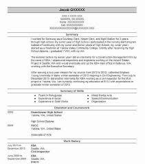 Civil Inspector Resume Sample Inspector Resumes Livecareer