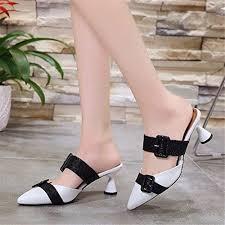 lcky New <b>Pointed</b> Toe high Heel <b>Sandals Professional Women's</b> ...