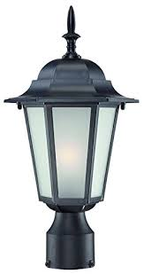 acclaim 6117bkfr camelot collection 1light post mount outdoor light fixture matte outdoor light fixtures 649
