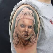фанатские татуировки поклонников Die Antwoord