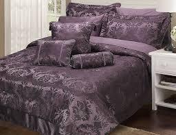 purple king size duvet cover