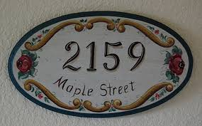 Decorative House Numbers Ceramic House Numbers Plaque All You Need To Know About The