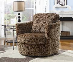 Swivel Chairs For Living Room Swivel Chair Leopard Accent Chairs