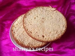 Shaziyasrecipes Eggless Vanilla Sponge Cake Recipe For Beginners
