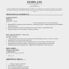 Download Housekeeping Resume Samples Haadyaooverbayresort For