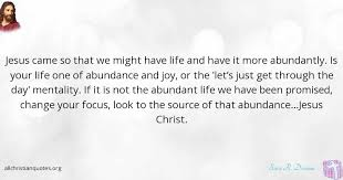 Spiritual Quotes For The Day Beauteous Sara R Dormon Quote About Jesus Christ Focus Life Mental
