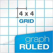 Ampad Evidence Quad Dual Pad Quadrille Rule Letter Size 8 5 X