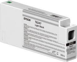 Singlepack Light Black T824700 UltraChrome HDX/HD <b>350ml</b> - <b>Epson</b>