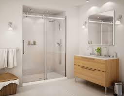sliding shower door thick tempered glass