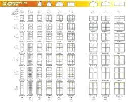 Andersen Window Sizes Chart Andersen Double Hung Window Sizes Casement Windows Egress