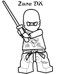 Small Picture Lego Ninjago Kai Coloring Pages Pages Coloring Ausmalbild Lego