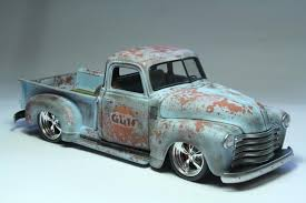 Weathered 50 Chevy | Fantastic Plastic | Chevy, Chevy pickups ...