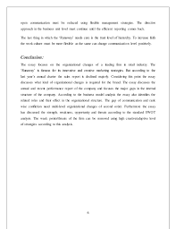 organizational structure essay organizational issues