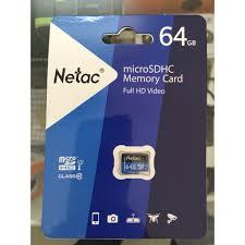 thẻ nhớ 64g netec chính hãng