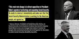 Social Security Commissioner, Trump ...