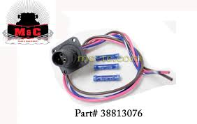 hiniker snowplow grill side 3 pin plug with wire leads 38813076 Hiniker Plow Wiring Harness hiniker snowplow grill side 3 pin plug with wire leads 38813076 hiniker snow plow wiring harness