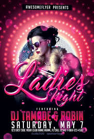 Club Flyer Templates Free Ladies Night Free Psd Flyer Template Free Flyer Templates