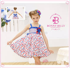 Ladies Dress Design Patterns Wholesale Teen Girl Dress Cottonpandex Flower Pattern