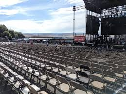 Gorge Amphitheater Seating Chart Gorge Amphitheatre 100 Reserved Concert Seating