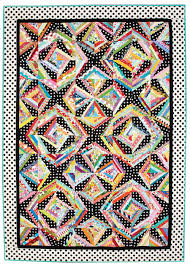 String Me Along Quilt - Fons & Porter - The Quilting Company & Bed-Size Quilt Pattern Adamdwight.com
