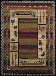 rustic cabin area rugs wildlife silhouette cabin rugs for area rug rustic rustic cabin lodge area