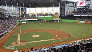 Miami Marlins Interactive Seating Chart Marlins Ballpark Seating Chart Row Seat Numbers