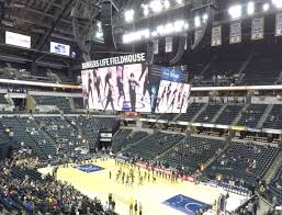 Bankers Life Seating Chart Bankers Life Fieldhouse Section 114 Seat Views Seatgeek