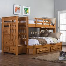 over full bunk bed with stairs. Furniture Costco staircase beds slide and stairs Bedroom: Terrific Staircase Bunk Bed Columbia Styles For Awesome