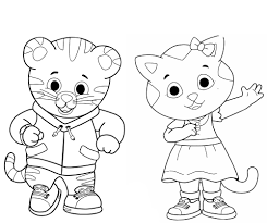 20 Daniel Tiger Halloween Coloring Page Halloween Coloring Pages